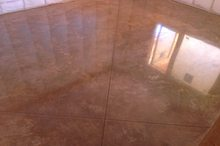 Colored and Polished Concrete